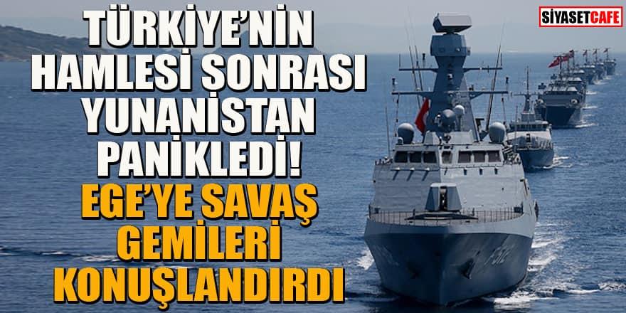 Yunanistan tutuştu! Ege'ye savaş gemileri konuşlandırdı