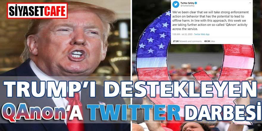 Trump'ı destekleyen QAnon'a Twitter darbesi, 150 bin hesap tehlikede