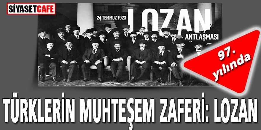 Savaş meydanlarından sonra masada Türkiye'nin görkemli zaferi: Lozan Antlaşması 97. yıldönümü
