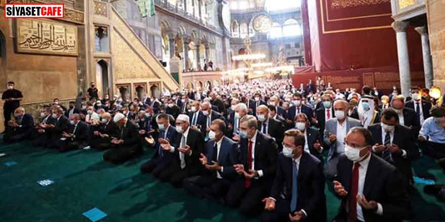 Erdoğan talimat verdi! Ayasofya Camii 24 saat açık olacak