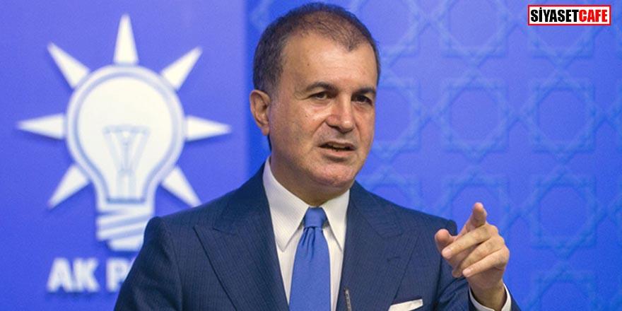 AK Parti Sözcüsü Ömer Çelik'ten bayrağımıza saldıran Yunanistan'a sert tepki