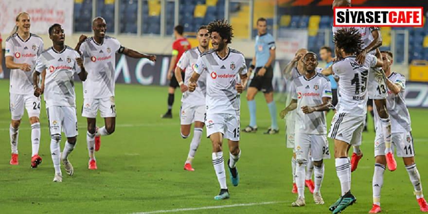 Beşiktaş ligi 3 golle bitirdi