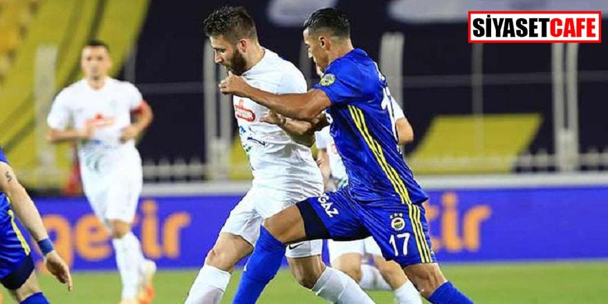 Fenerbahçe'den sezona 3 gollü veda