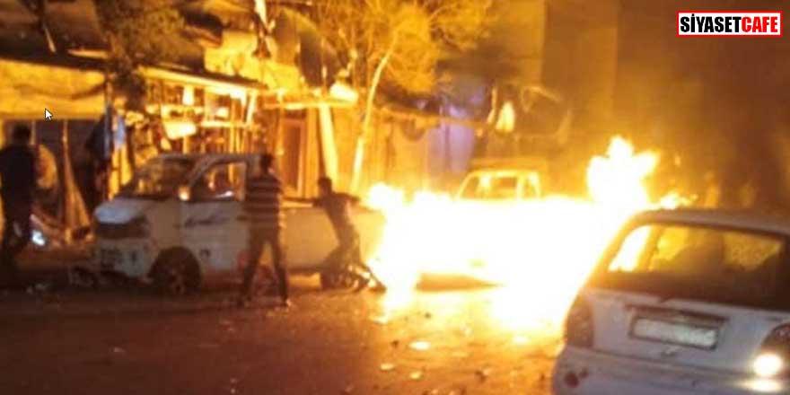 İdlib'de bombalı saldırı! Yaralılar var...