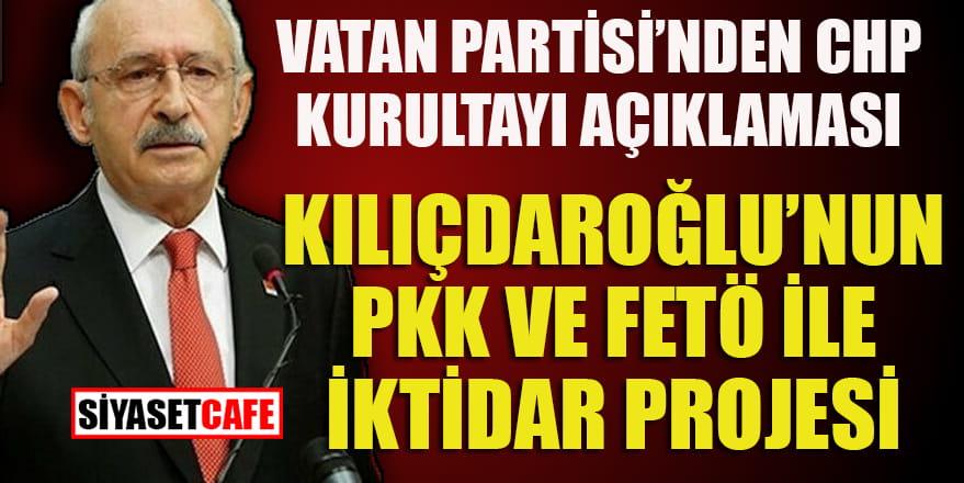 Vatan Partisi'nden CHP kurultayı açıklaması