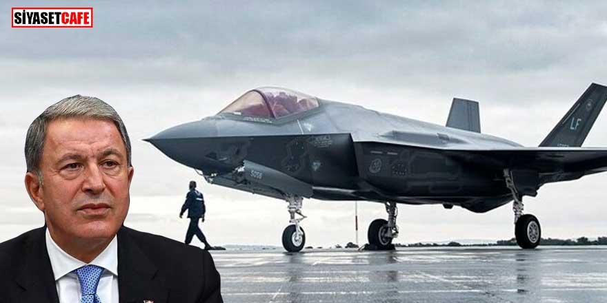 Bakan Akar'dan F-35 açıklaması: Türkiye sadece alıcısı değil, ortağıdır