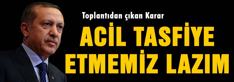 Erdoğan: Çökertmemiz lazım