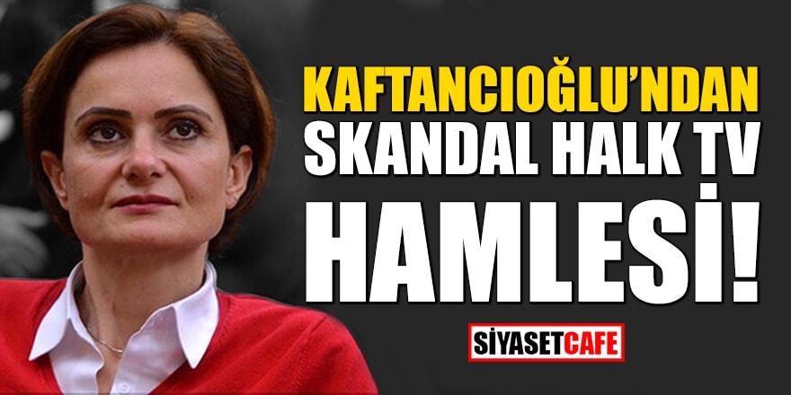 Kaftancıoğlu'ndan skandal Halk TV hamlesi! Suç duyurusunda bulundu