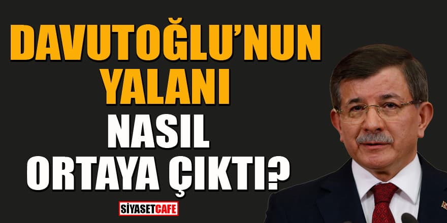 """Davutoğlu'nun """"50 bin Uygur Türk'ü Çin'e verilecek"""" iddiasına yalanlama geldi"""
