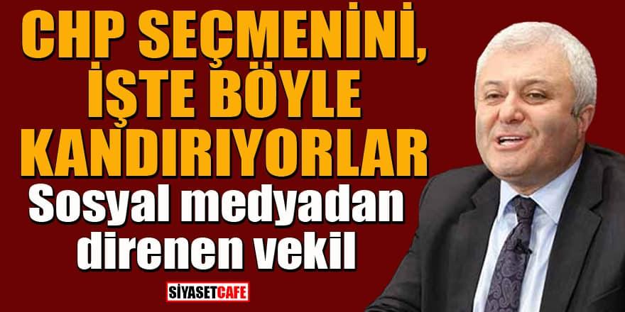 Sosyal medyadan direnen CHP'li Tuncay Özkan alay konusu oldu: Nerede direndi acaba?