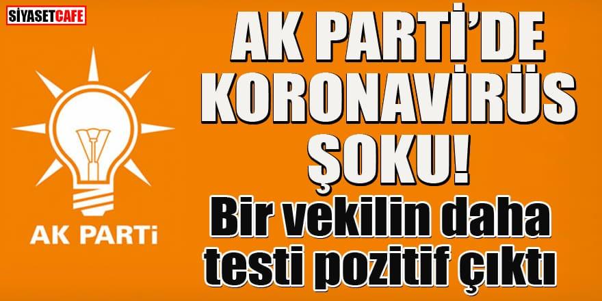 AK Parti'de koronaya yakalanan vekil sayısı 4 oldu!