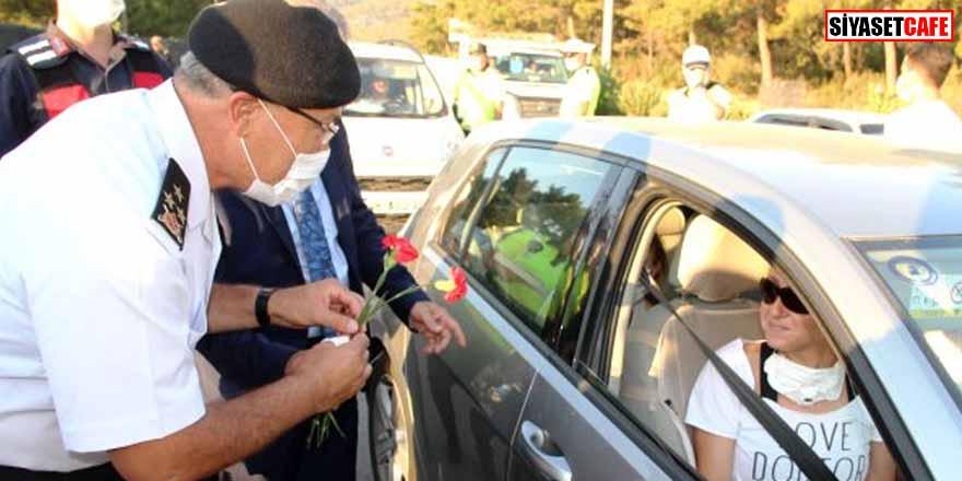 Bodrum'a 4 günde 151 bin araç giriş yaptı! Rekora koşuluyor