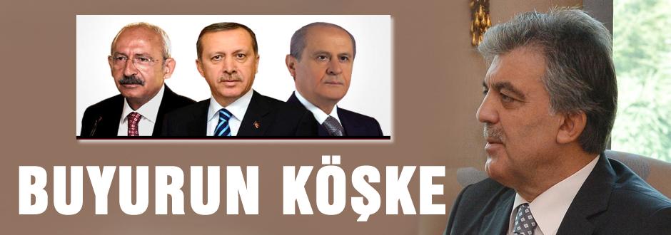 Abdullah Gül'den muhalefete davet!