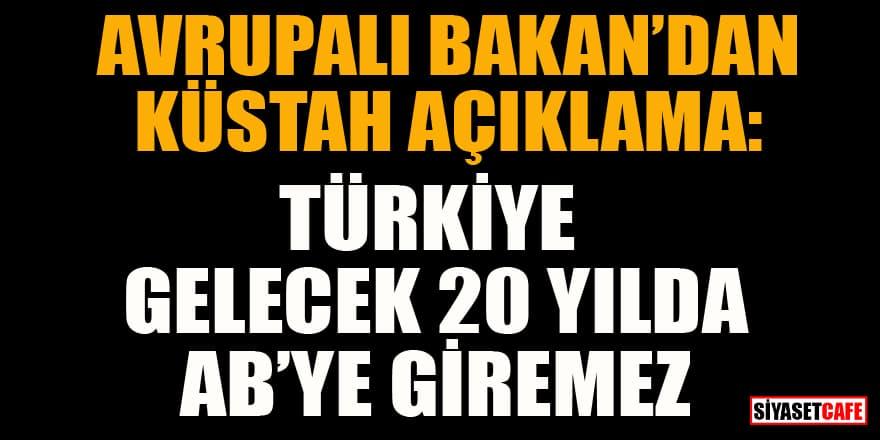 Lüksemburg Dışişleri Bakanı: Türkiye gelecek 20 yılda AB'ye giremez