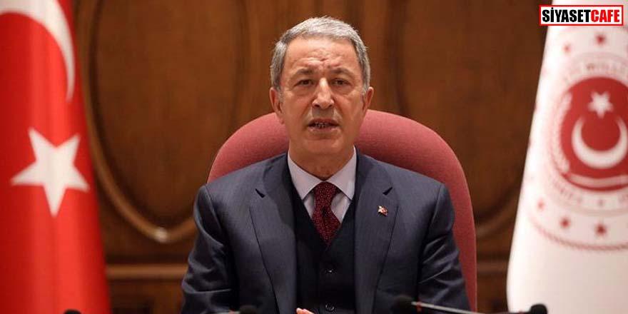 Bakan Akar'dan Azerbaycan-Ermenistan sorunu açıklaması: Kardeşlerimizin yanındayız