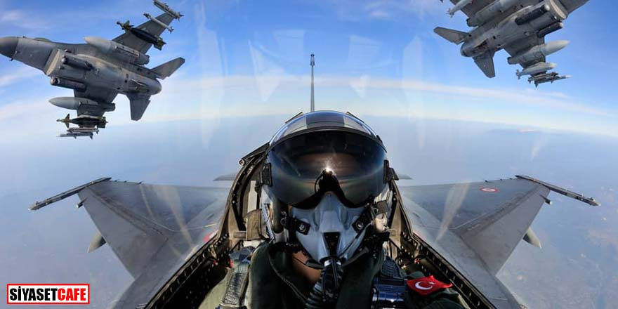 F-16'lar böyle vurdu! 6 PKK'lı terörist etkisiz hale getirildi!