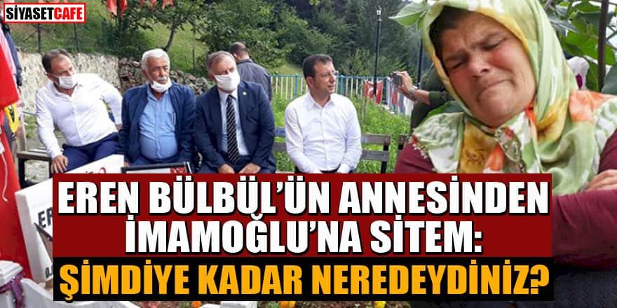 Eren Bülbül'ün annesinden İmamoğlu'na sitem: Demirtaş'ı ziyaret etmesi çok koydu