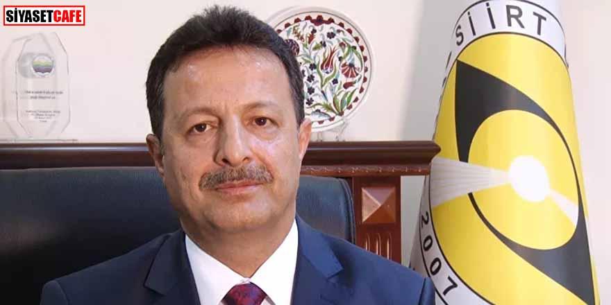 Siirt Üniversitesi Rektörü Prof. Dr. Murat Erman görevinden istifa etti