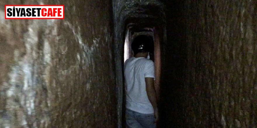Sinop'taki gizemli tünel heyecan yarattı
