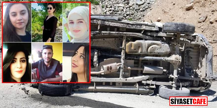 Hakkari'deki trafik kazasında hayatını kaybedenlerin kimlikleri belli oldu