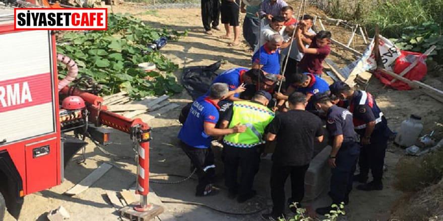 Adana'daki kuyu aynı aileden 4 kişiye mezar oldu