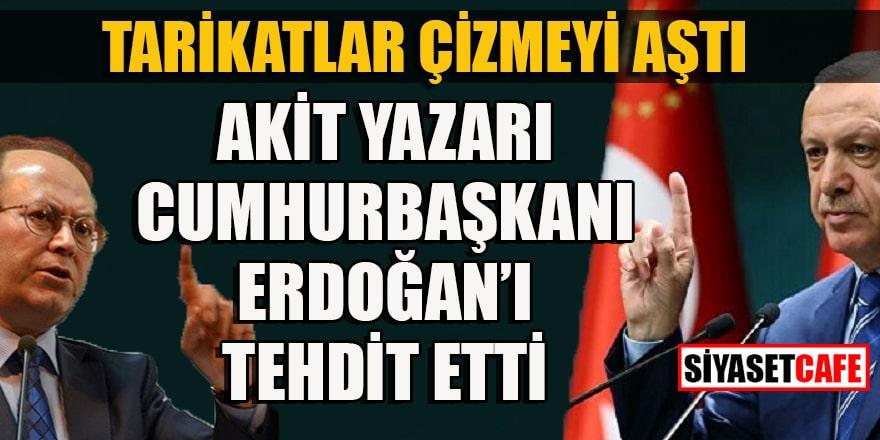 Akit yazarı Kaplan, İstanbul Sözleşmesi üzerinden Erdoğan ve KADEM'i hedefe koydu