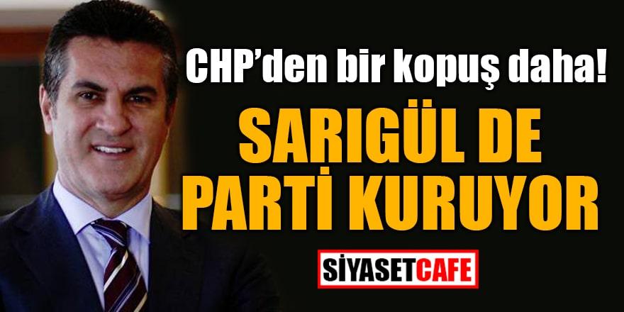 Ve Mustafa Sarıgül'de parti kuruyor