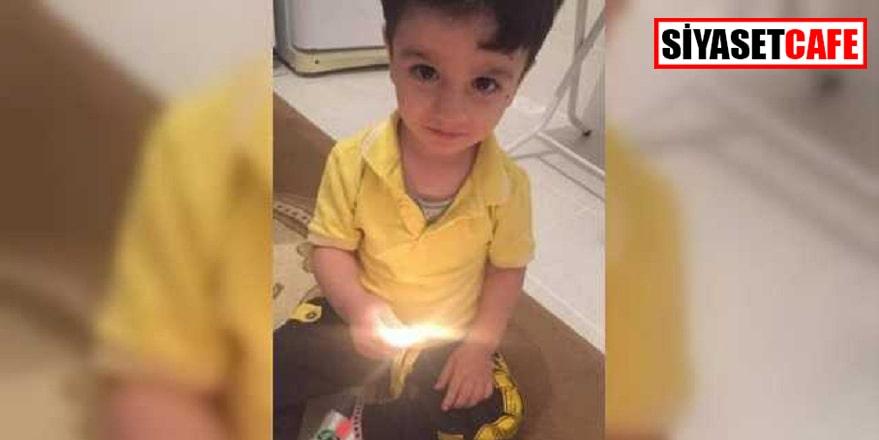 3 yaşındaki Sidar maganda kurbanı oldu