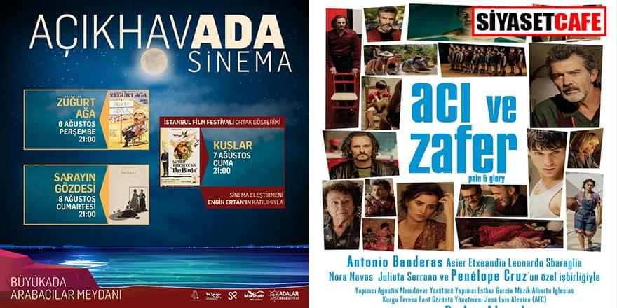 AçıkhavADA Sinema her pazar farklı bir adada