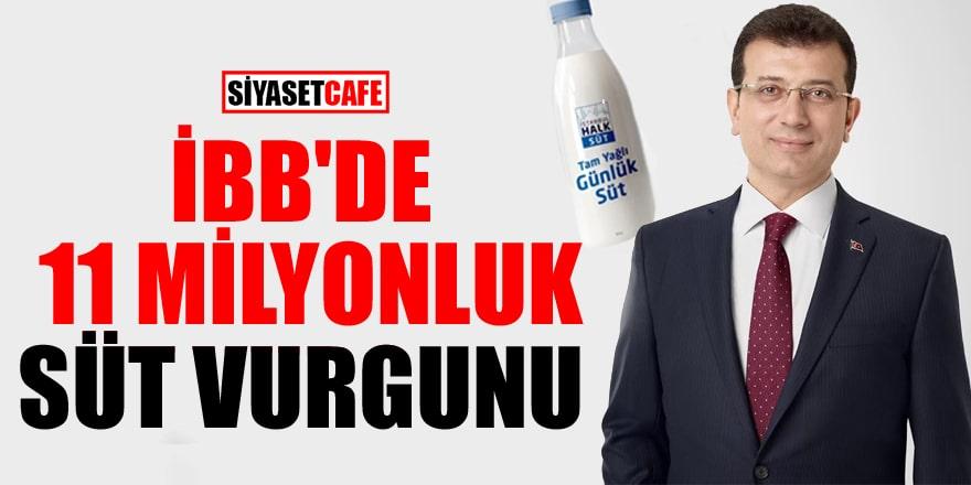 İBB litresi 3,5 lira olan sütü 8 liraya alarak 11 milyon harcadı