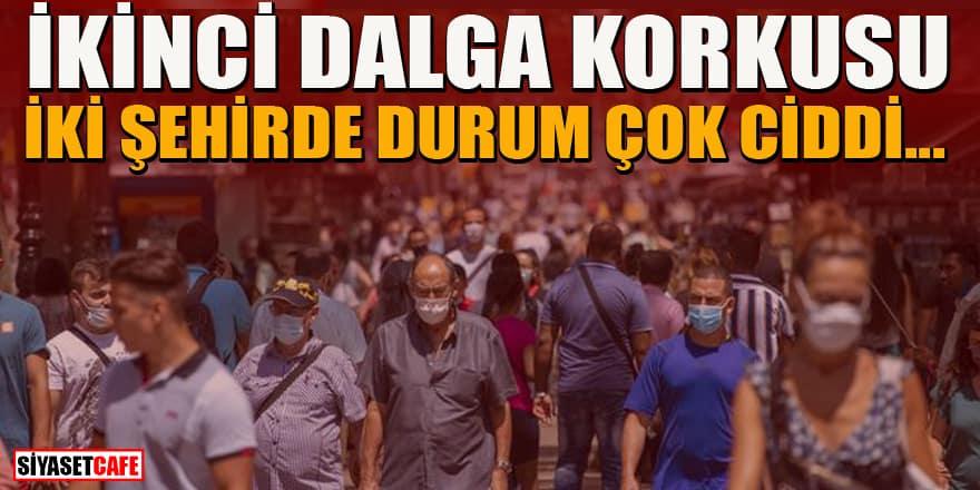 Ankara ve Konya'da Covid-19 ikinci dalga korkusu
