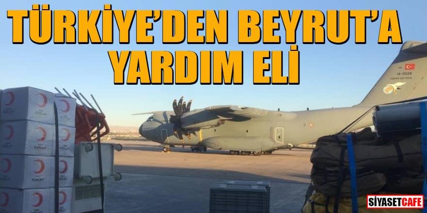 Türkiye Beyrut'a yardım gönderecek! MSB açıkladı