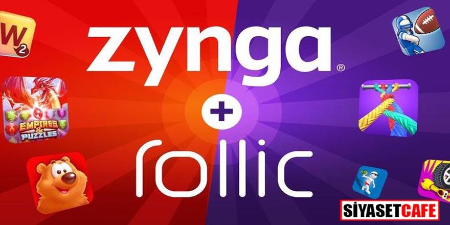 Zynga, Peak Games'den sonra bir yerli oyun firması olan Rollic Games'i de aldı