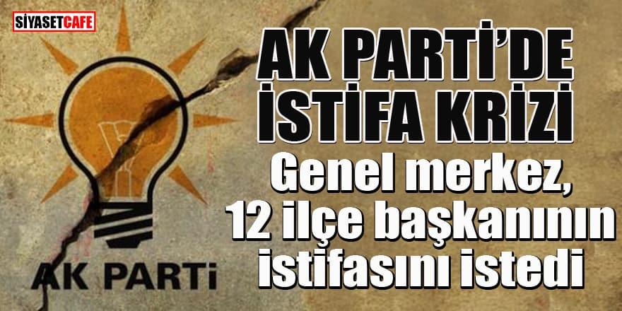 AK Parti Diyarbakır'da istifa krizi: Genel merkez, 12 ilçe başkanının istifasını istedi
