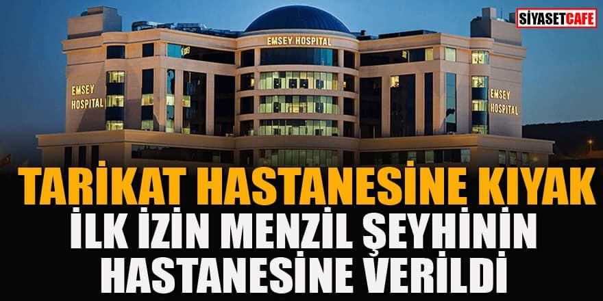 Menzil'ın hastanesine sağlık turizmi yetki belgesi verildi