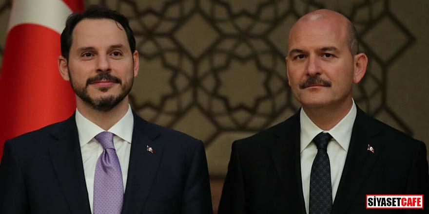 İçişleri Bakanı Soylu'dan Berat Albayrak'a destek