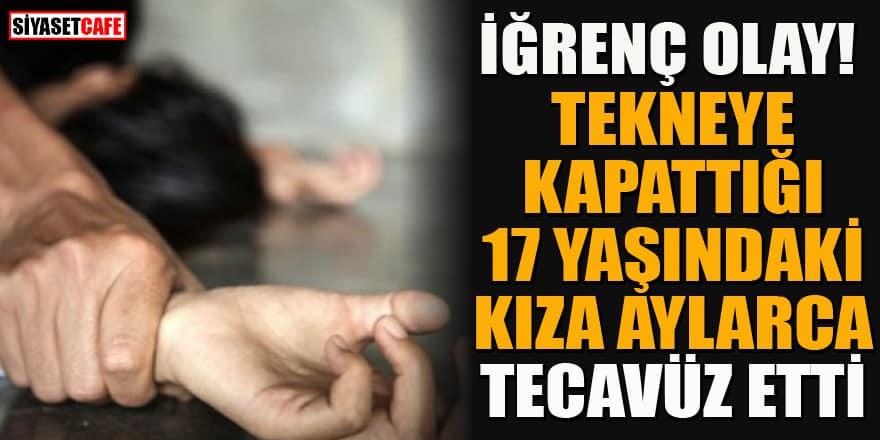 İstanbul'da iğrenç olay! Teknesine kapattığı 17 yaşındaki kıza aylarca tecavüz etti