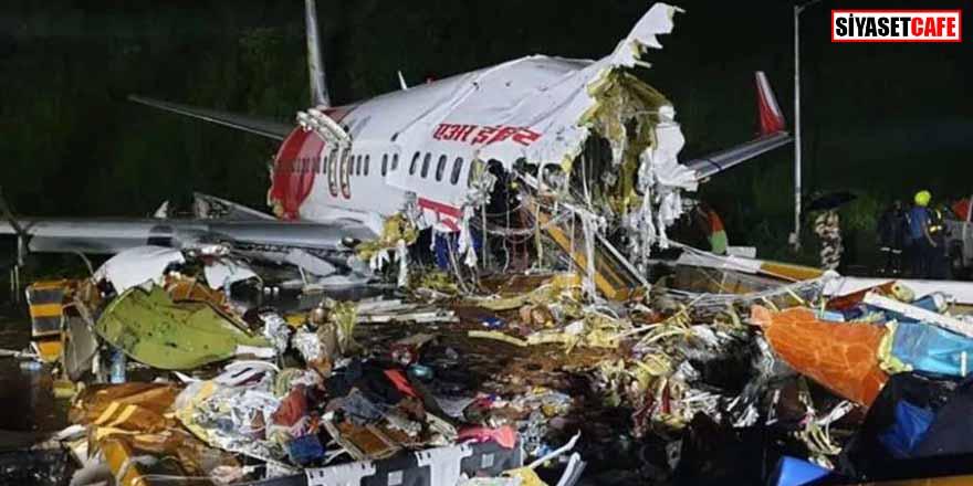 Hindistan'daki uçak kazasında ölü sayısı artıyor