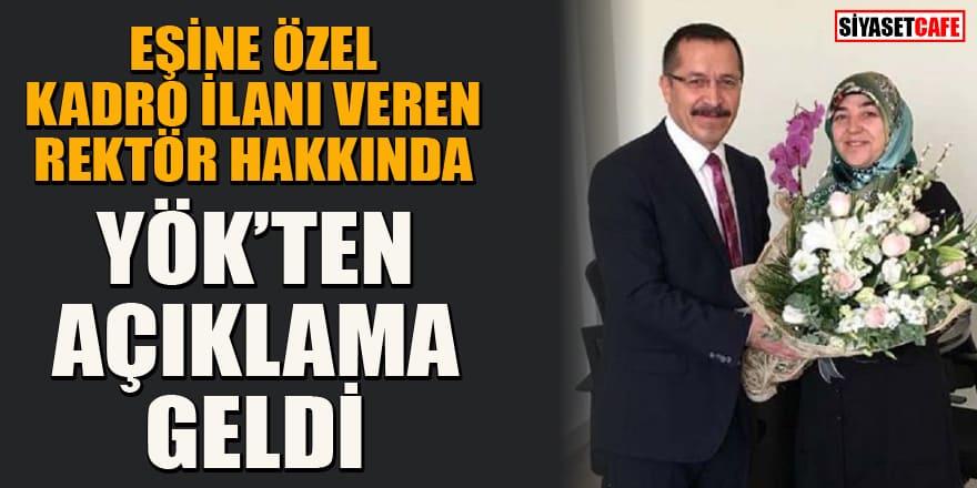 YÖK açıkladı: Pamukkale Üniversitesi Rektörü Hüseyin Bağ'a soruşturma açıldı