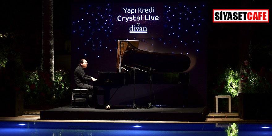 'Yapı Kredi Crystal Live By Divan' konserleri Fazıl Say ile başladı