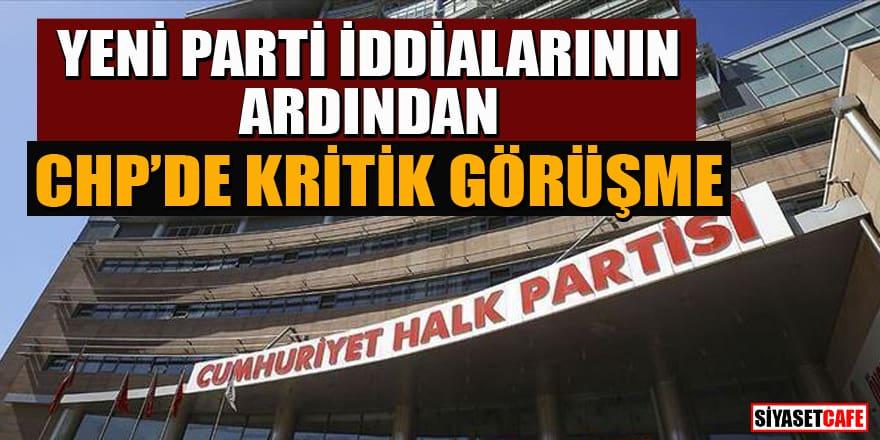 CHP'de Hikmet Çetin ve Murat Karayalçın'dan Kılıçdaroğlu'na 'Muharrem İnce' ziyareti