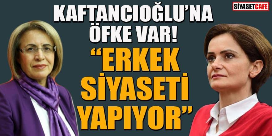 CHP Kadın Kolları Genel Başkanı Fatma Köse'den Canan Kaftancıoğlu'na sert tepki