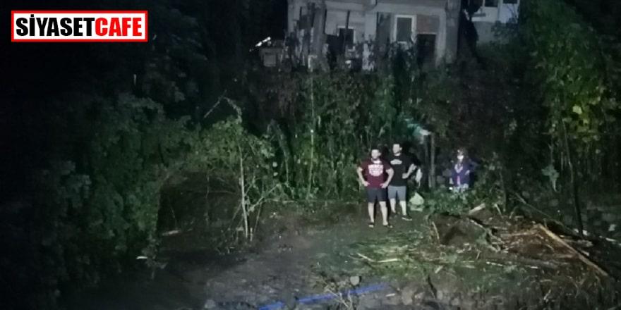 Rize'de mahsur kalan 7 kişilik aile kurtarıldı
