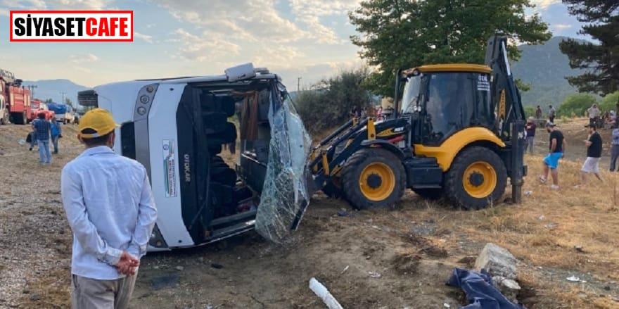 Muğla'daki trafik kazasında 1 işçi hayatını kaybetti