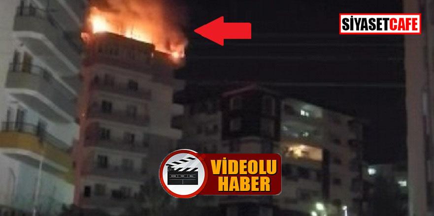 Diyarbakır'da geceyi patlayan tüpler aydınlattı