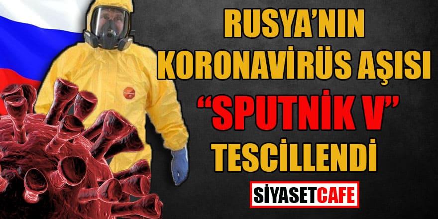 Rusya'nın koronavirüs aşısı 'Sputnik 5' tescillendi