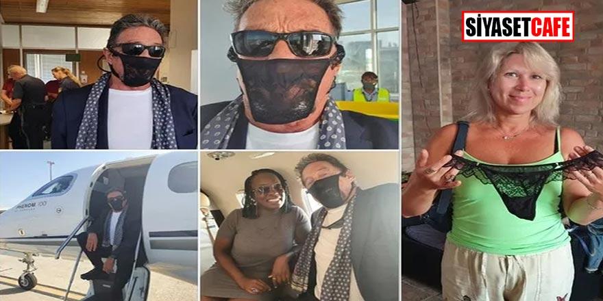 Dünyaca ünlü yazılımcı John McAfee maske yerine kadın iç çamaşırı takınca gözaltına alındı