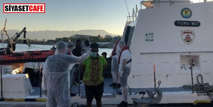 Türk sahil güvenliği 103 sığınmacıyı kurtardı