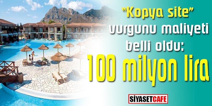 İzole tatil isteyen tatilcilerin dolandırıldığı vurgunda bilanço açıklandı: 100 milyon lira