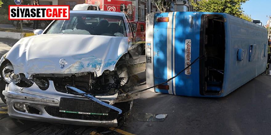 Aksaray'daki kazada 18 kişi yaralandı